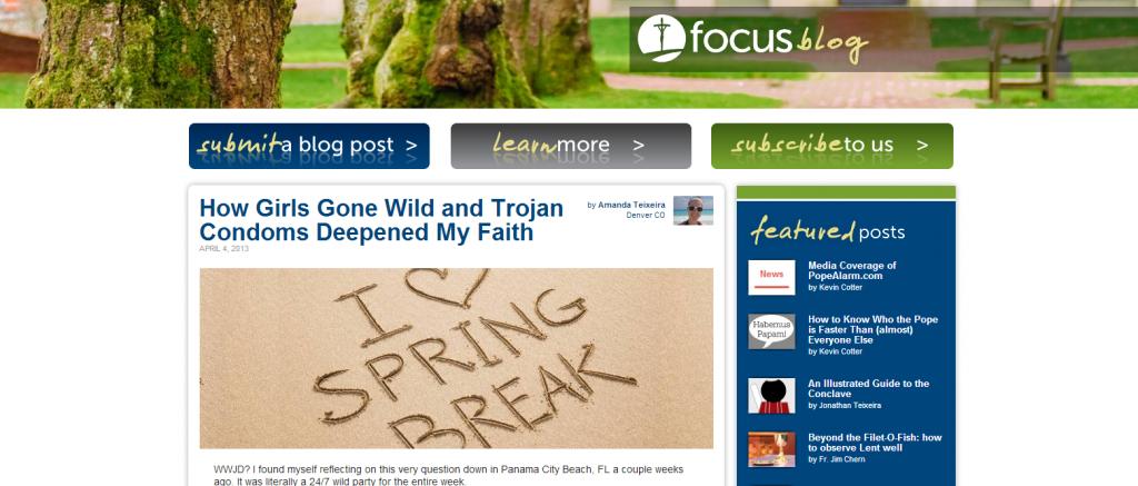 focus blog
