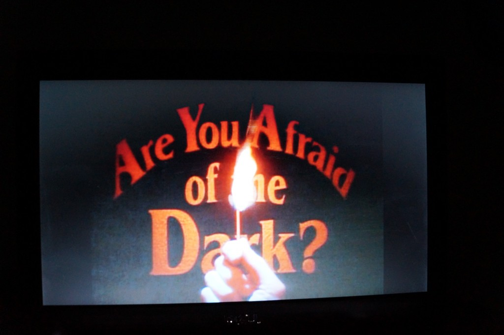 Then we watched 90's commercials on YouTube, and hopped on Amazon Prime to check out Are You Afraid of the Dark? and Clarissa Explains it All. Great shows!