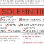 solemnities